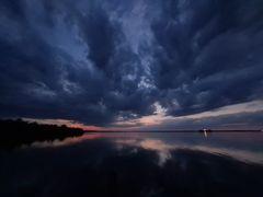 Wolken, Licht & Wasser