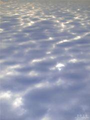 Wolken oder Wasser?