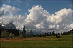 Wolken türmten sich auf
