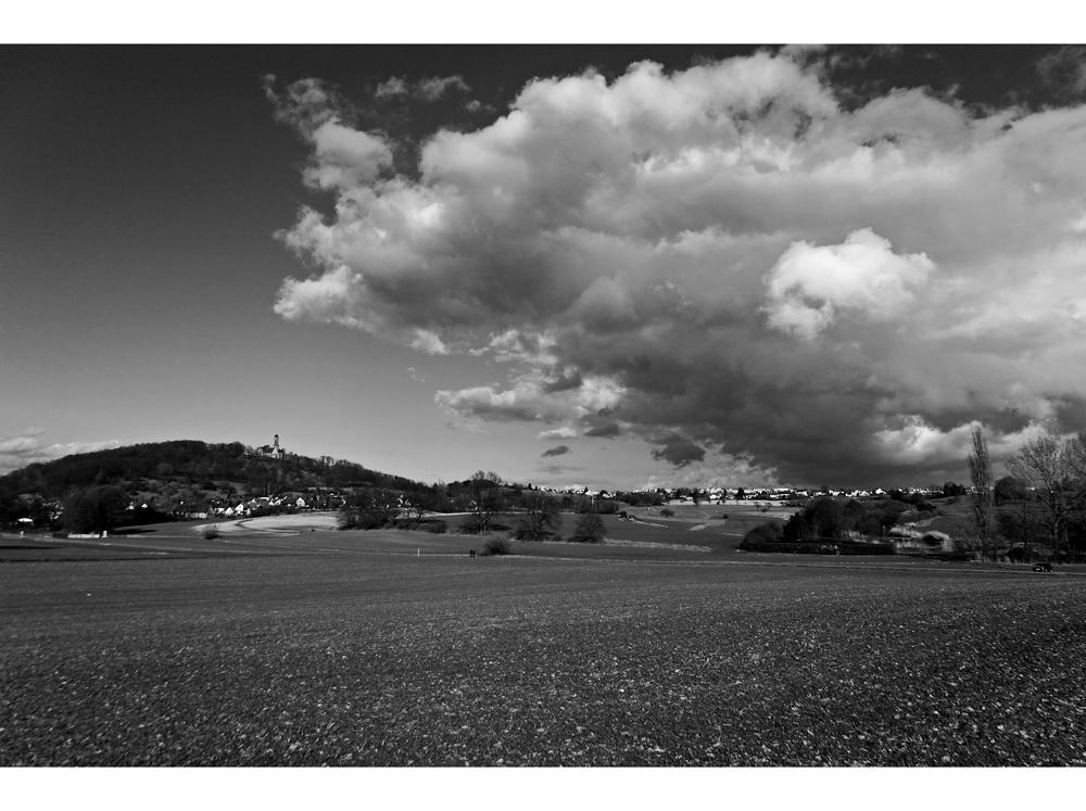 Wolken über Bamberg