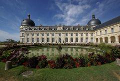 Wolken über Chateau de Valencay