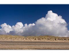 Wolken über den Dünen..