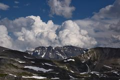 Wolken über den Glockner...