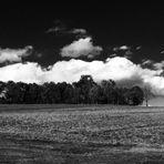 Wolken über der Schwäbischen Alb