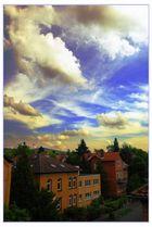Wolken über der Stadt
