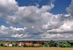Wolken über Dörnach