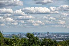 - Wolken über FFM -