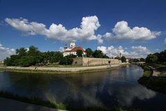 Wolken über Györ - (meine Stadt)