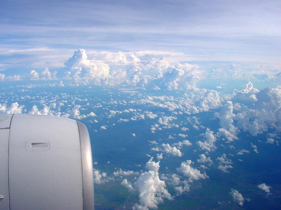 Wolken über Indochina