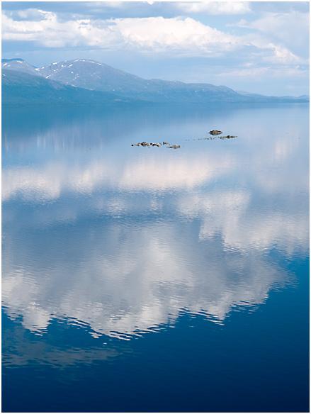 Wolken über Lappland