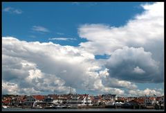 Wolken über Marstrand