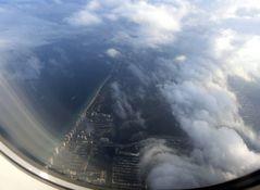 Wolken über Miami