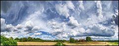 Wolken über Mülheim