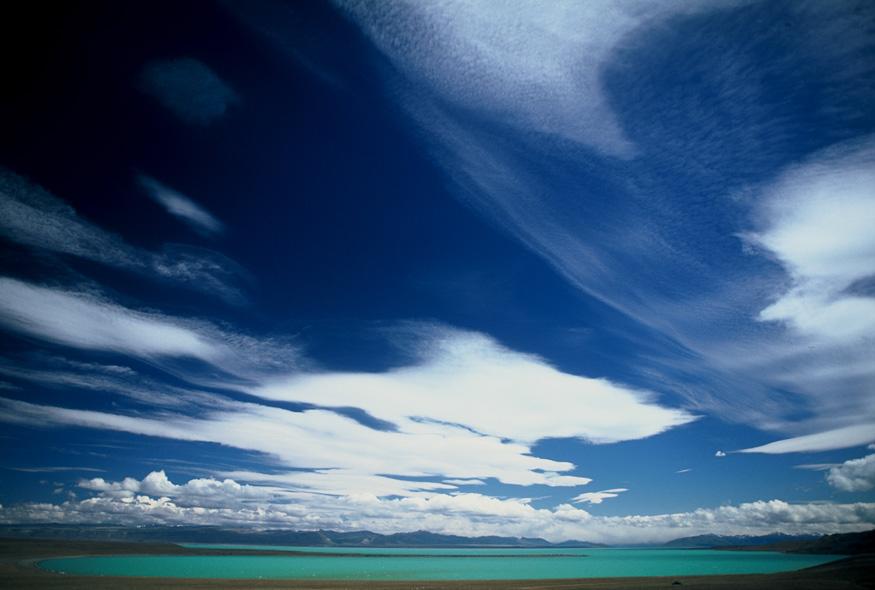 Wolken über Patagonien