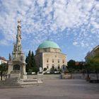 Wolken über Pécs