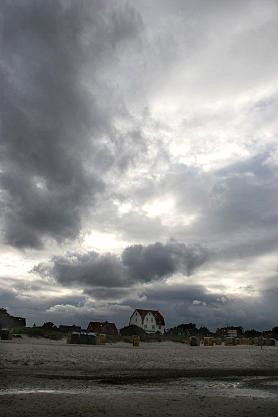 Wolken über Schönberg (Holstein)i