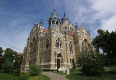 Wolken über Szeged (Synagoge)