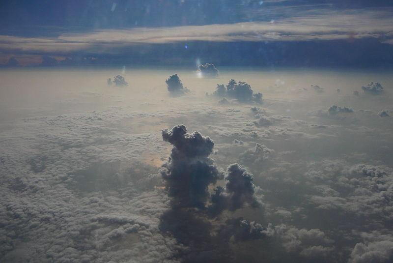 Wolken über Thailand