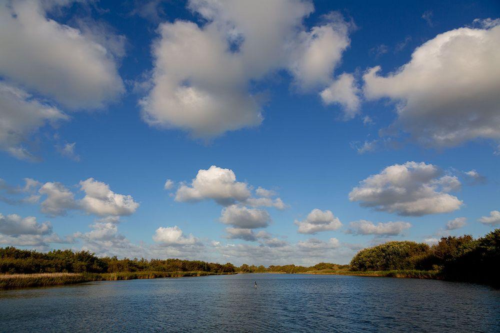... Wolken über Zeeland ...