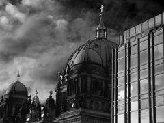 Wolken über'n Berliner Dom