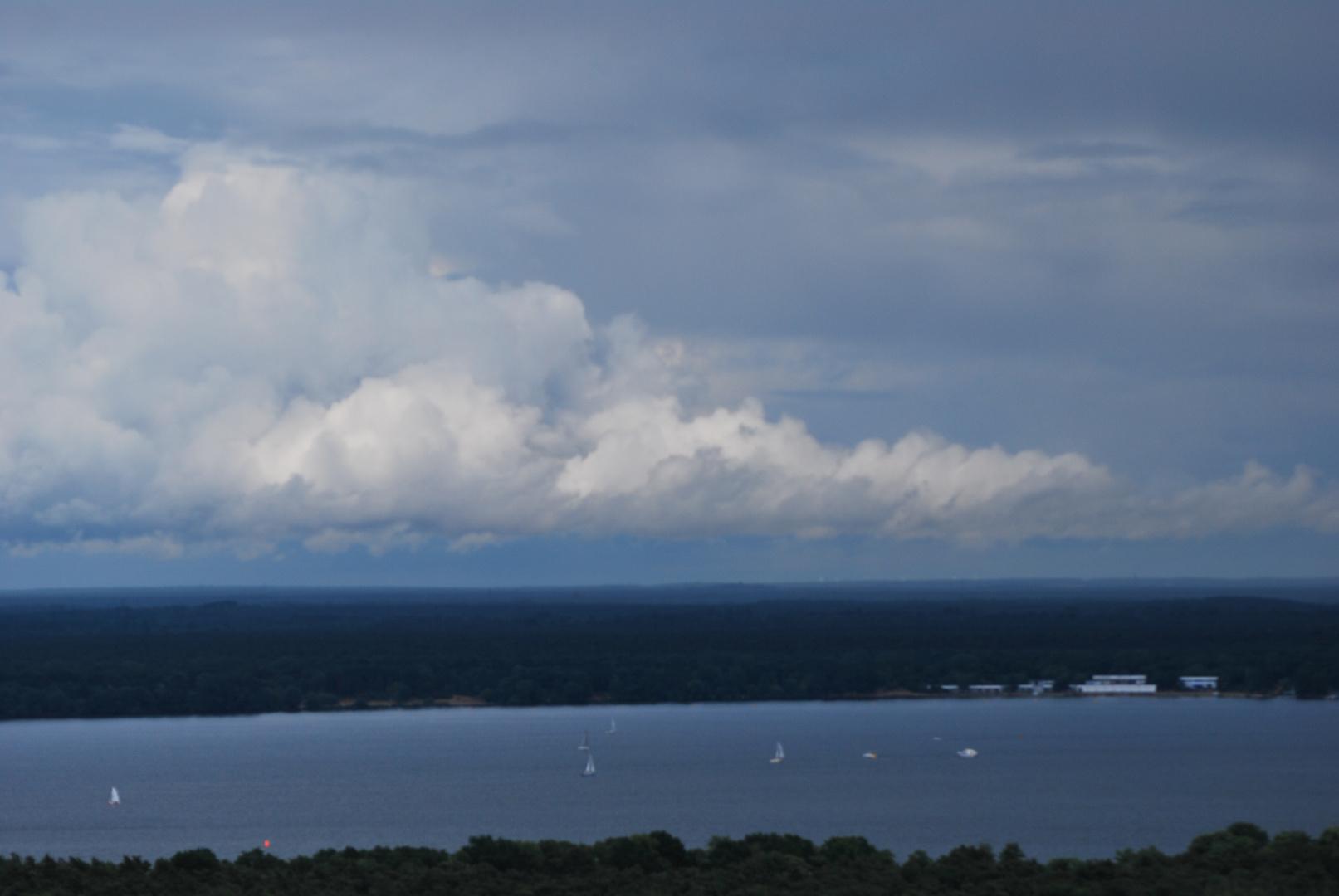 Wolken übern Müggelsee