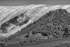 Wolken und Vulkane