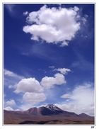 Wolken Wüste Schatten