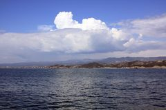 Wolken ziehen auf - Alanya, Türkei