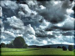 Wolkenballung um Weißenstadt