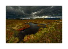 Wolkenbank in den Highlands