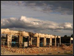 Wolkenbilder 5: Abbruch