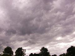 Wolkenbilder in der Nordeifel ...(2)