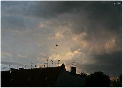 Wolkenbilder: Restlicht