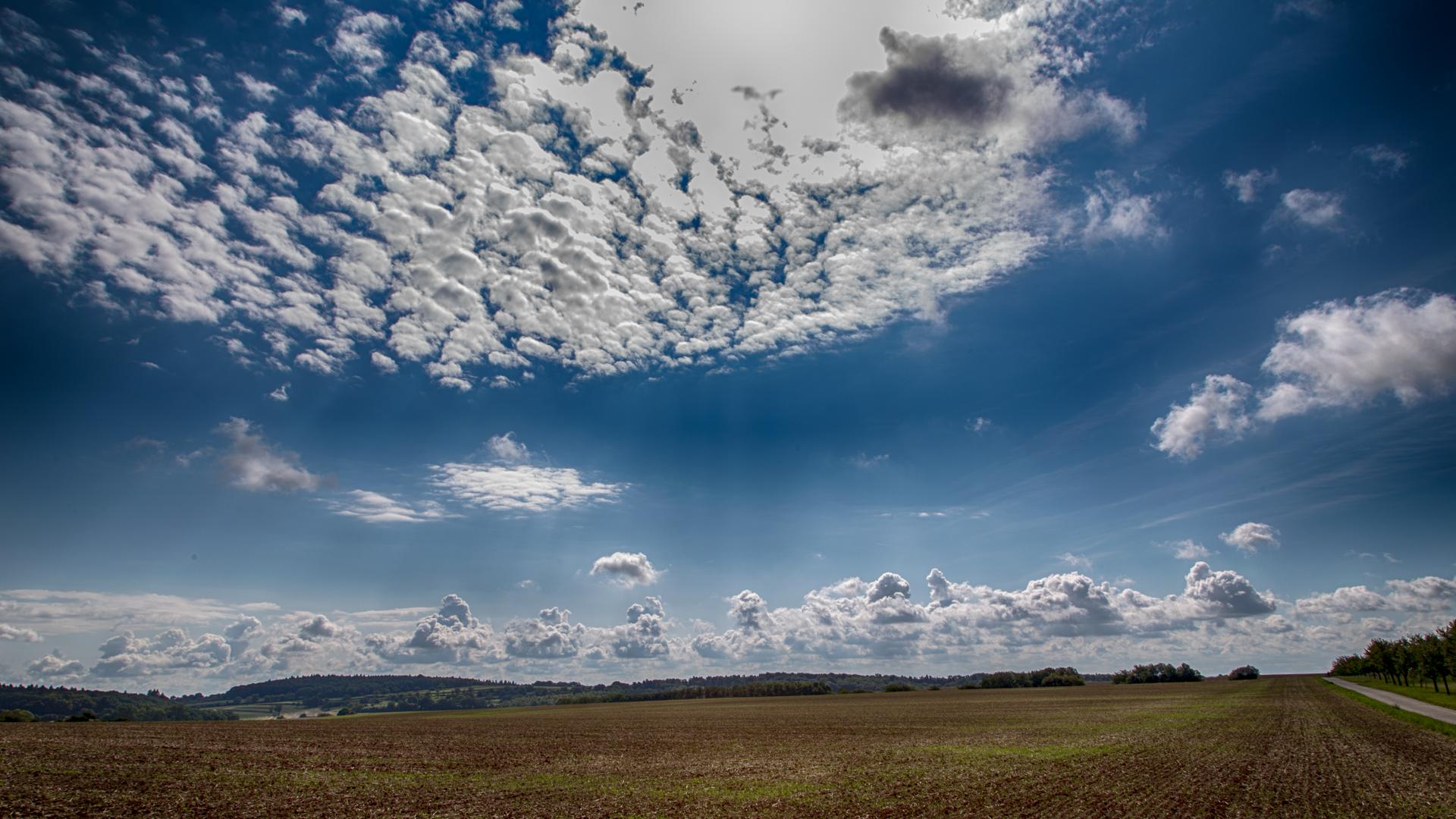 Wolkenbilder über'm Kraichgau