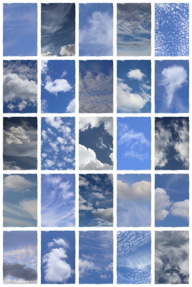 Wolkencollage