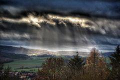 Wolkendruchbruch
