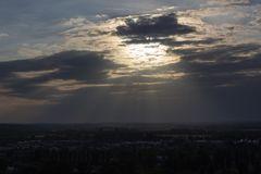 Wolkendurchbruch über Potsdam Bornstedt
