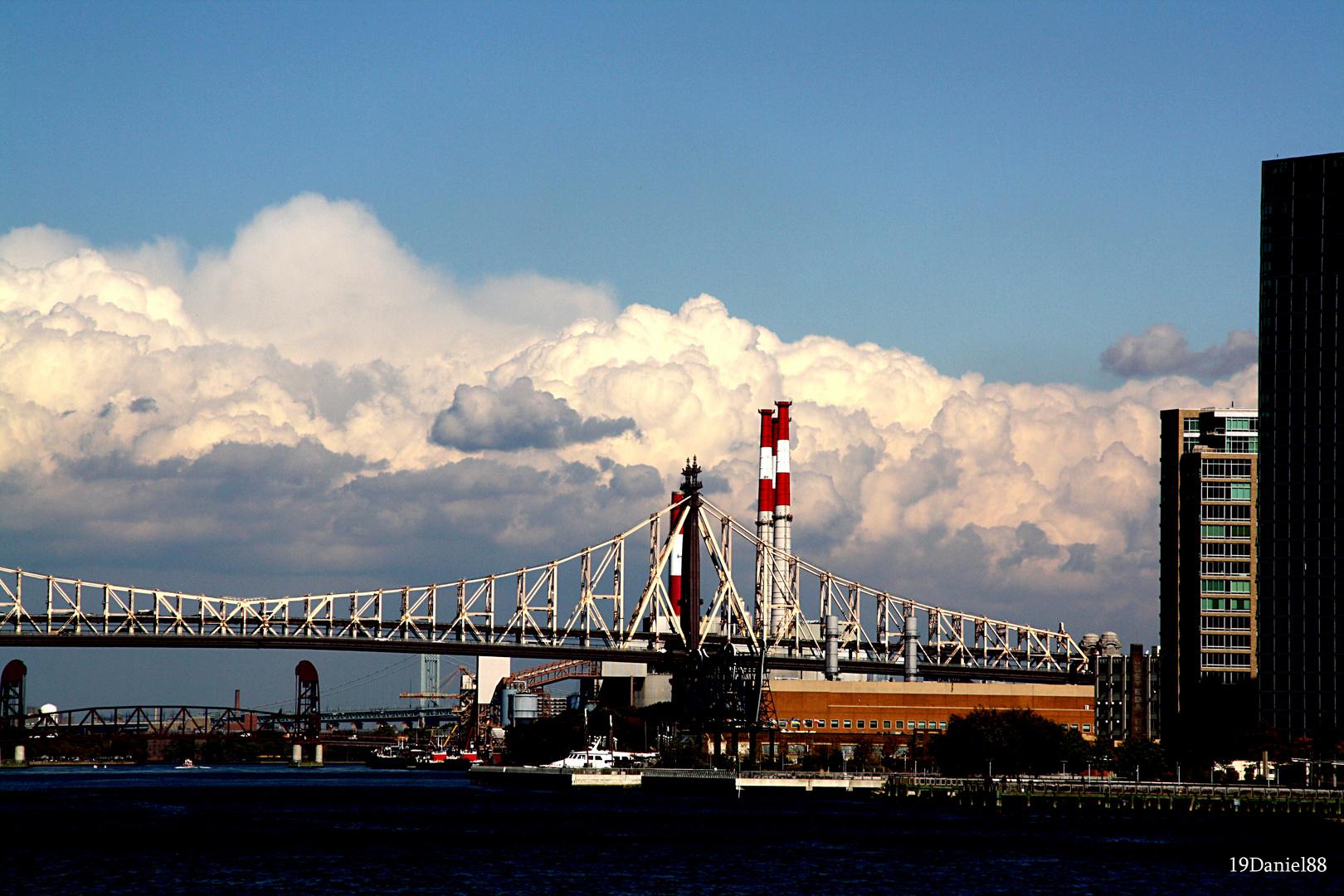 Wolkenformation - New York