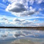 Wolkenformation über dem Boisdorfer See