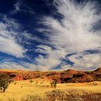 Wolkenformation über der Ur-Namib
