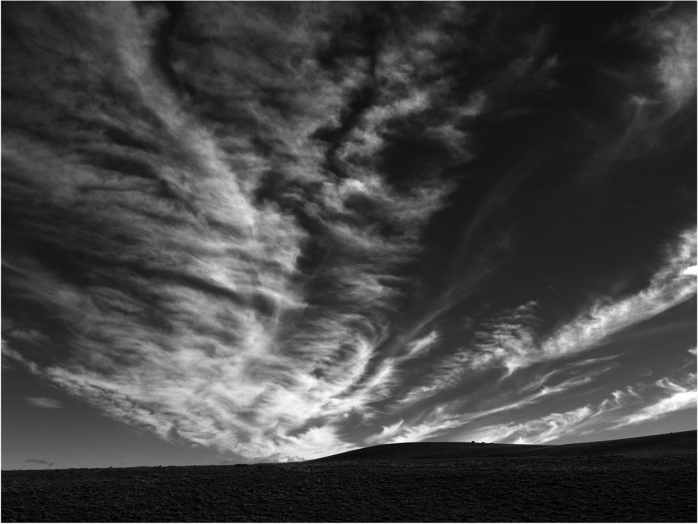 Wolkenformationen ...