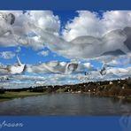 Wolkenfrauen über Dresden