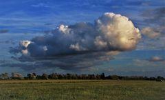 Wolkengebilde über dem Darß