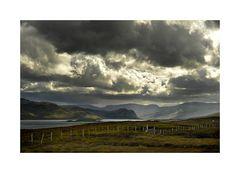 Wolkengebräu am Loch Eribol