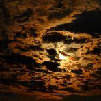 Wolkenglanz am Abend.