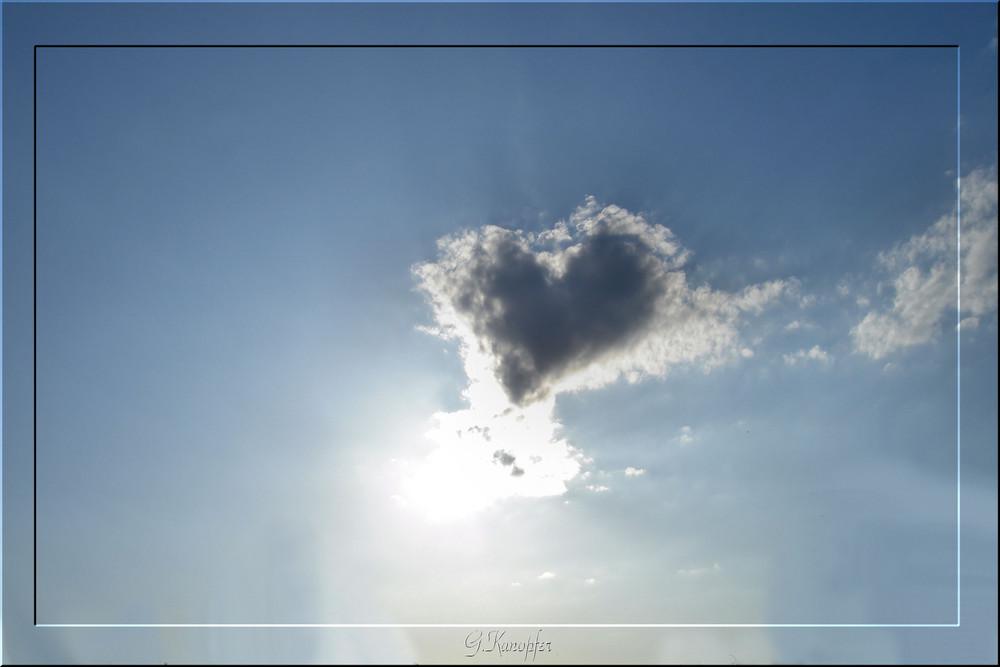 Wolkenherz Foto & Bild | himmel, wolken, himmel & universum ...