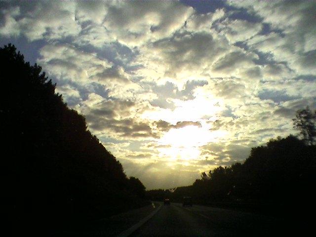 Wolkenhimmel...