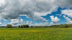 Wolkenhimmel im Allgäu