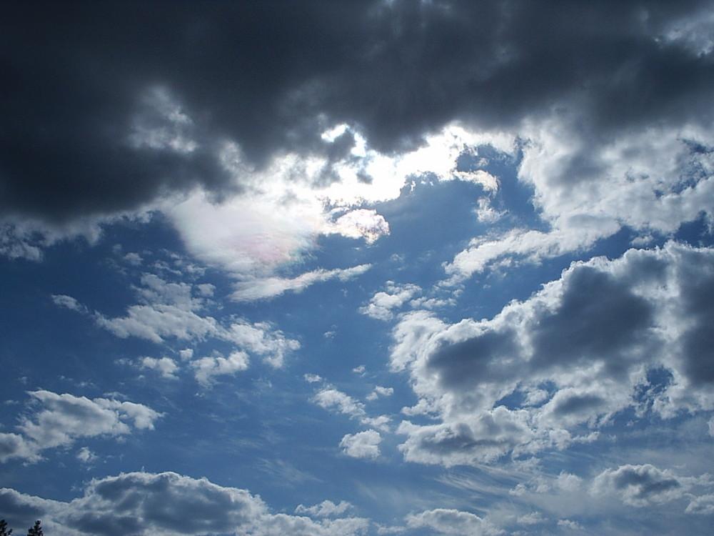Wolkenhimmel über Schweden
