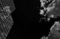 wolkenkratzerwolkenspiegel